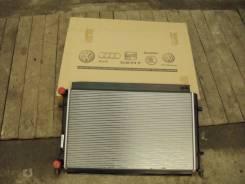 Радиатор охлаждения двигателя. Skoda
