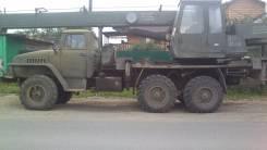Урал. Продам автокран урал вездеход срочно !, 14 000 кг., 14 м.