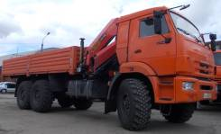 Камаз 43118 Сайгак. КМУ Камаз 43118-3027-46 + Hyva HB150E2 нижн. упр. +борт сталь 6.2м. (со с, 12 000 куб. см., 14 000 кг.