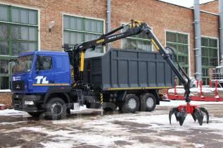 МАЗ 6312B5-8429-012. Ломовоз маз 6312В5 с Гидроманипулятором Epsilon, 310 куб. см., 26 000 кг.