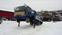 Nissan Diesel UD. Бортовой грузовик с Манипулятором!, 6 900 куб. см., 5 500 кг.