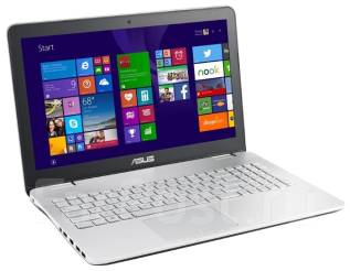 """Asus N. 15.6"""", 2,5ГГц, ОЗУ 8192 МБ и больше, диск 1 000 Гб, WiFi, Bluetooth, аккумулятор на 4 ч."""
