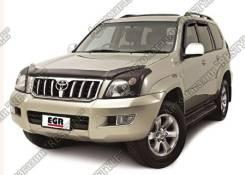 Дефлектор капота. Toyota Land Cruiser Prado, TRJ125, RZJ120, LJ125, KDJ125, GRJ120, TRJ120W, KZJ120, KDJ121, RZJ125, VZJ120, RZJ120W, KDJ120W, LJ120...
