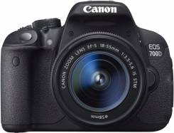 Canon EOS 700D. 15 - 19.9 Мп, зум: 14х и более