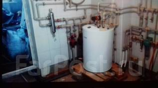 Монтаж радиаторов отопления.