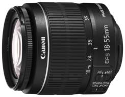 Canon EF-S 18-55mm F/3.5-5.6 IS II. Для Canon EF-S, диаметр фильтра 58 мм