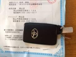 Smart Key Toyota prius 30. Toyota: Ractis, Wish, Land Cruiser Prado, Aqua, Sai, Corolla Fielder, Vitz, Prius Двигатели: 1NZFXE, 1NZFE, 2ZRFAE, 2ZRFE