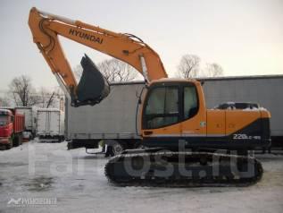 Hyundai R220LC. Экскаватор гусеничный -9S, 5 880 куб. см., 0,92куб. м.