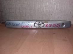 Накладка на дверь багажника. Toyota Caldina, ST191, ST190