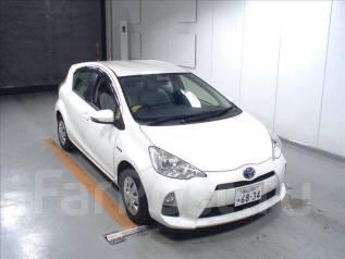 Toyota Aqua. вариатор, передний, 1.5 (74 л.с.), бензин, 125 000 тыс. км, б/п