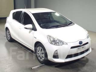 Toyota Aqua. вариатор, передний, 1.5 (74 л.с.), бензин, 101 тыс. км, б/п