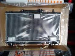 Радиатор охлаждения двигателя. Toyota Caldina, ET196 Двигатель 5EFE