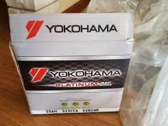 Yokohama Batteries. 55А.ч., Прямая (правое), производство Япония