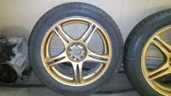 Продам диски R17 Rays Foundry + зимняя резина Dunlop Ice Touch 94T. 7.0x17 5x114.30 ET48