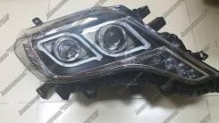 Фары Тюнинг Toyota Prado 150 2013+ С ангельскими глазками
