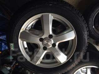 Колеса r15 4x100 с резиной Bridgestone. x15 4x100.00