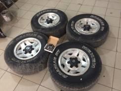 Сток Колеса surf Prado Toyota 5 дисков с резиной. 7.0x15 6x139.70 ET-8