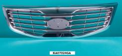 Молдинг решетки радиатора. Kia Sportage