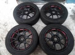RS Wheels. 7.5x17, 5x114.30, ET45, ЦО 72,0мм.