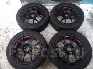RS Wheels. 7.5x17, 5x114.30, ET45, ЦО 72,0 мм.