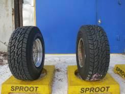 Bridgestone Dueler A/T D694. Летние, 2013 год, износ: 5%, 2 шт