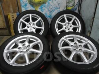 Продам Стильные колёса Toyota Estima+Лето 215/55R17. 7.0x17 5x114.30 ET50