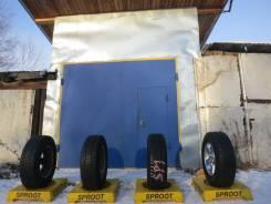 Goodyear Wrangler SilentArmor. Грязь AT, 2012 год, износ: 20%, 4 шт