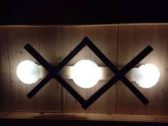 Светильники настенные.