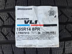 Bridgestone Blizzak VL1. Зимние, без шипов, 2014 год, без износа, 4 шт
