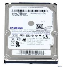 Жесткие диски. 320 Гб, интерфейс 2.5