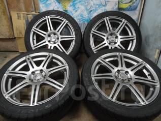 Продам Крутые Стильные Bridgestone BEO+Лето Жир 215/45R17Toyota, Subaru. 7.0x17 5x100.00 ET48