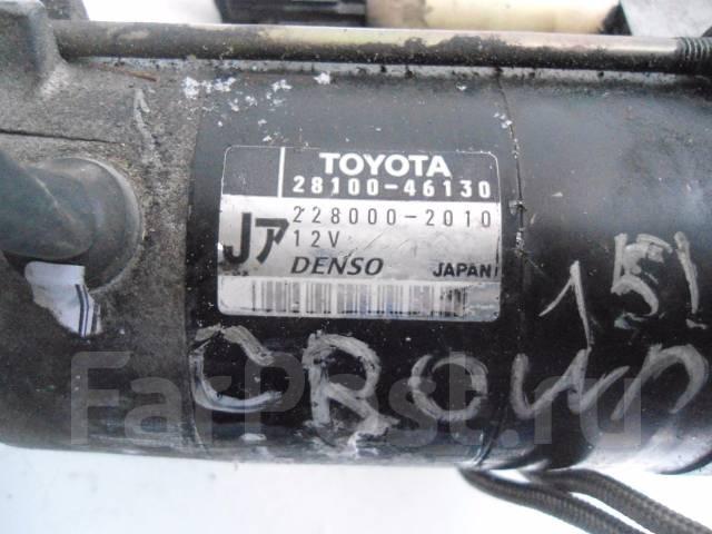 Стартер. Toyota: Crown Majesta, Mark II Wagon Blit, Crown, Soarer, Mark II, Cresta, Progres, Brevis, Chaser Двигатели: 1JZGE, 1JZGTE, 1JZFSE