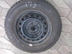 Продам комплет колес R14 175/70 липучки Goodyear. 5.5x14 4x100.00 ЦО 54,1мм.