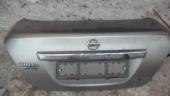 Крышка багажника. Nissan Tiida Latio