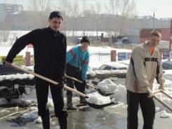 Бригада грузчиков и разнорабочих! Бригада из русских рабочих !