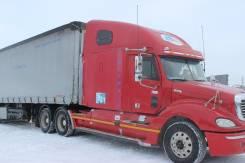 Freightliner Columbia. Продаётся седельный тягач Фрейдлайнер Колумбия 2003г, с полуприцепом, 12 700 куб. см., 20 000 кг.
