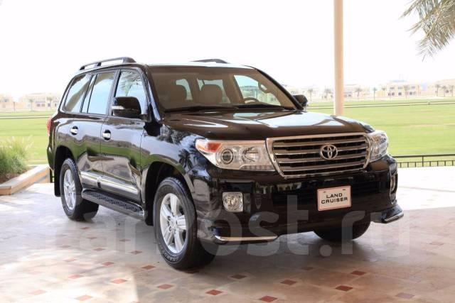 Губа. Toyota Land Cruiser, URJ202W