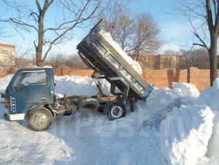 Вывоз снега.