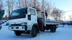 Nissan Diesel UD. Продаётся Nissan Diesel грузовой, бортовой, с крановой установкой, 7 000 куб. см., 5 000 кг.
