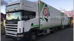Scania. Скания 124-420, 11 890куб. см., 17 000кг., 6x2