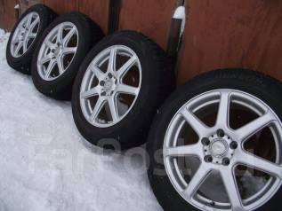 """PRO V7 17""""5*114,3 off+48 215/60/17 зима Dunlop DSX-2 2010 г. 7.0x17 5x114.30 ET48 ЦО 73,0мм."""