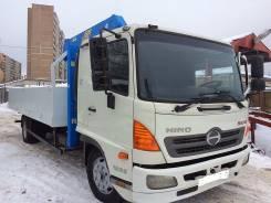 Hino 500. Продам Хино 2012 г. грузовик с краном манипулятором(эвакуатор), 7 700 куб. см., 7 000 кг.