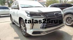 Обвес кузова аэродинамический. Lexus LX570, URJ201W, URJ201 Lexus LX450d Двигатель 3URFE