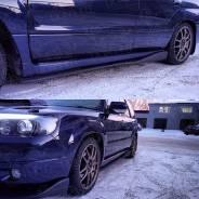 Накладка на порог. Subaru Legacy B4 Subaru Forester, SG5, SG9. Под заказ