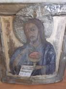 Икона храмовая Иоанн Предтеча рубеж 18-19в. 35х30. Оригинал