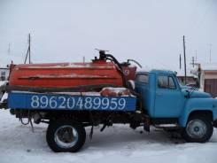 ГАЗ 53А. ГАЗ 53 АС бочку, 2 400 куб. см., 3,80куб. м.