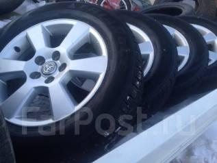 Два комплекта колес, зима-лето 225/60R17, на литье Harier 2008 г. x17