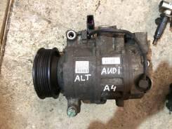 Компрессор кондиционера. Audi A4, B7 Двигатель ALT