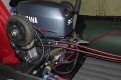 Yamaha. 30,00л.с., 2х тактный, бензин, нога S (381 мм), Год: 2014 год