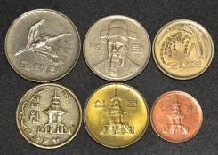 Набор монет Южной Кореи